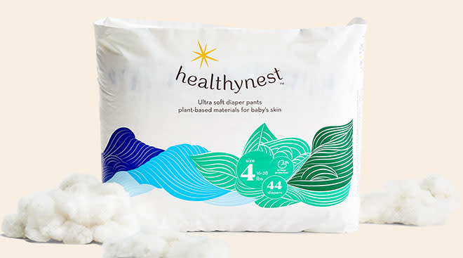 brand healthy nest launches environmentally safe diapers