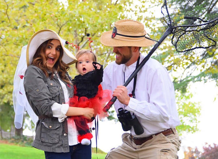 family halloween costumes bug catcher