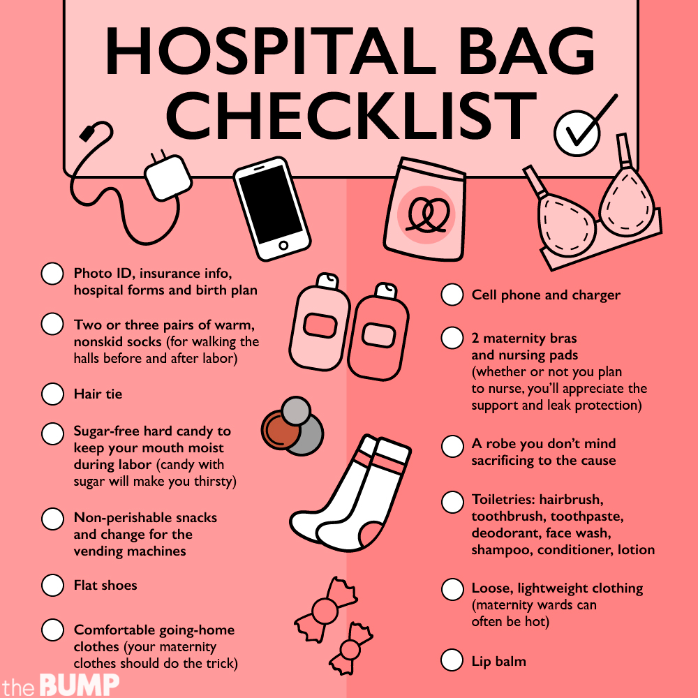 3d5256cf6 Hospital Bag Checklist  What to Pack in Hospital Bag