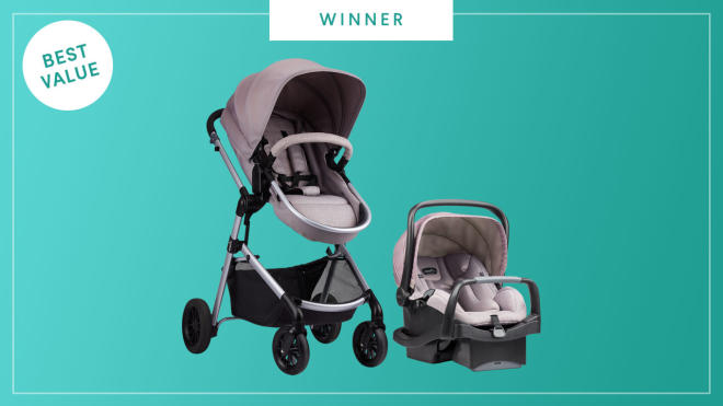 Evenflo Pivot  wins the 2017 Best of Baby Award from The Bump