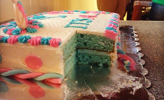 Growing Trend Gender Reveal Desserts