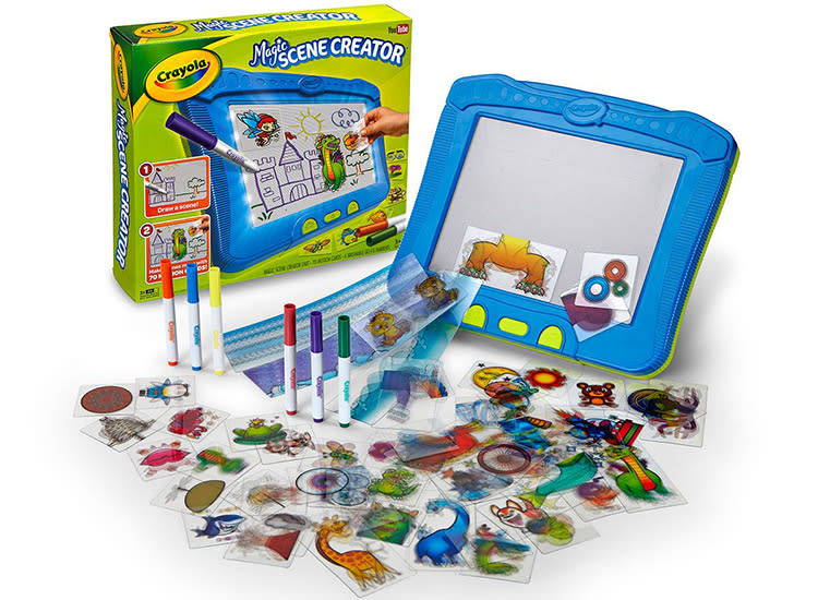 christmas gifts kids crayola magic scene creator - Cheap Christmas Gifts For Kids