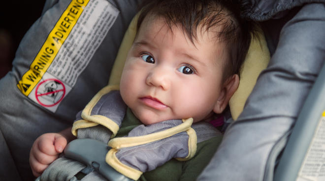 Beware of knock-off car seats being sold online.