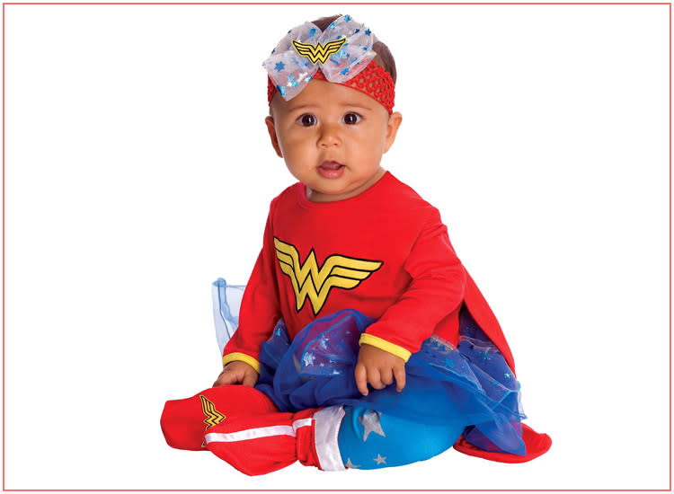 baby halloween costumes girl wonder woman