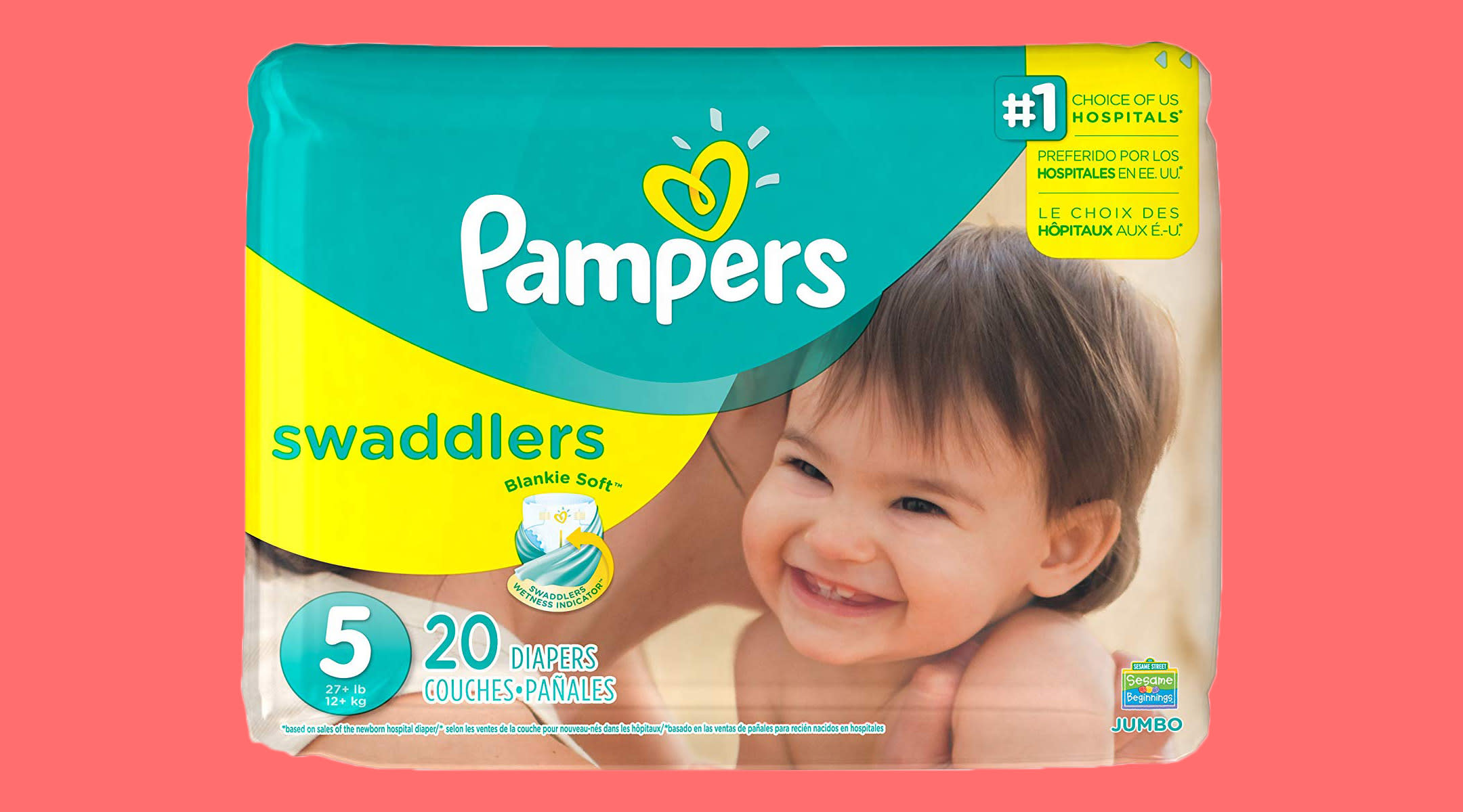 pampers diaper product, due to increase in price