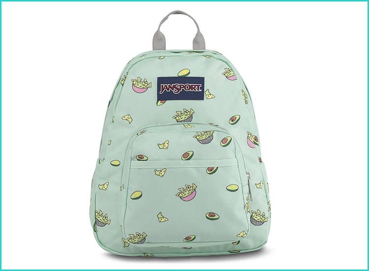 Paris print toddler backpack Small toddler backpack Pink toddler backpack Preschool backpack Canvas toddler backpack Toddler lunch bag