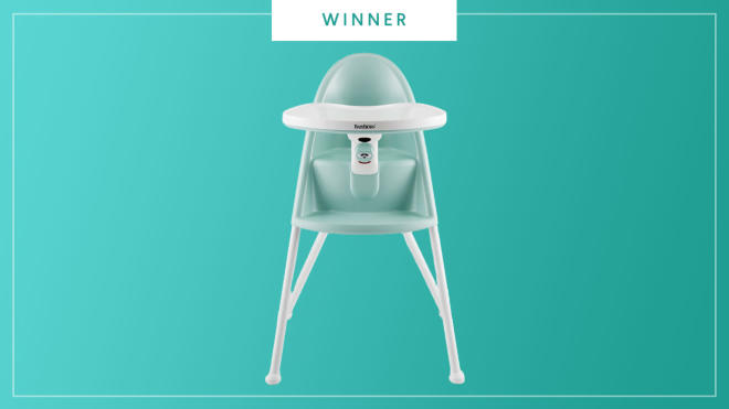 BabyBjӧrn High Chair wins the 2017 Best of Baby Award from The Bump.