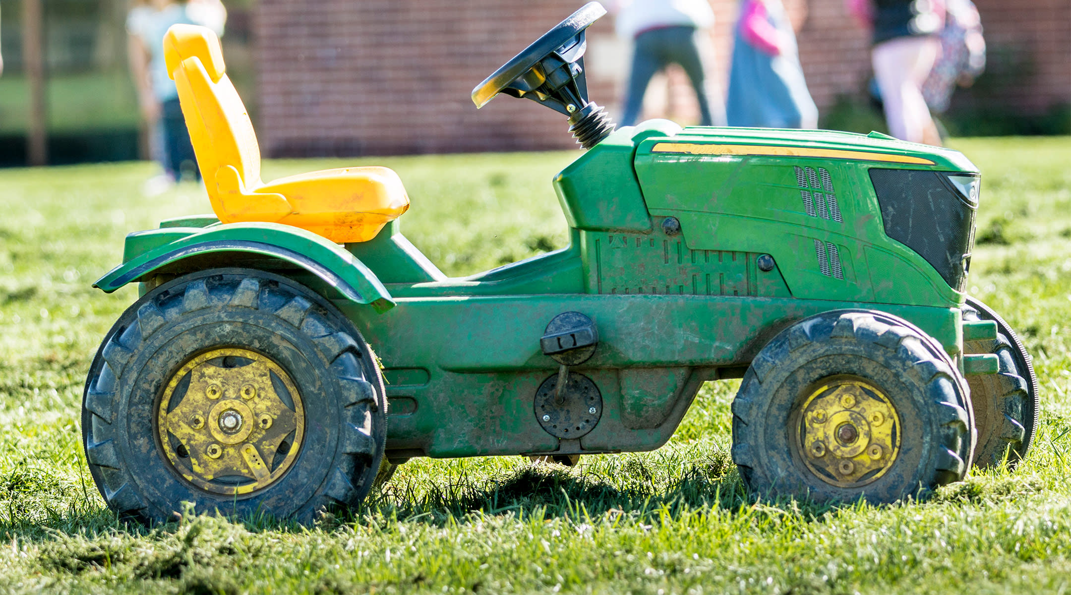 child's miniature tractor
