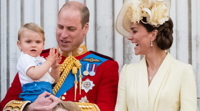 prince louis says his first words