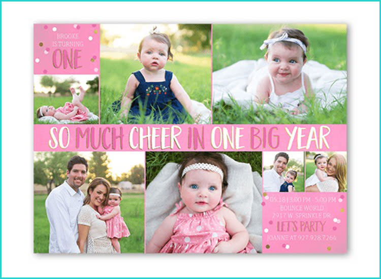 25 First Birthday Invitations To Get The Party Started