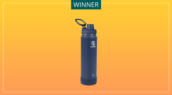 Takeya brand re-usable water bottle