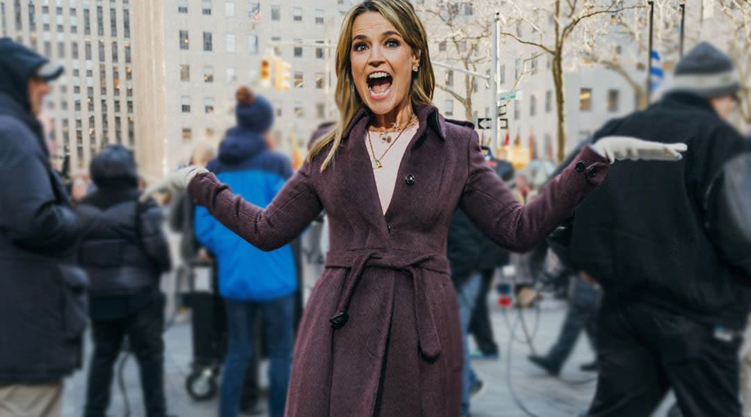 today show host savannah gutherie makes up a hand washing song