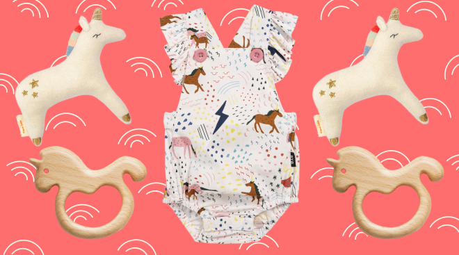 unicorn accessories for baby