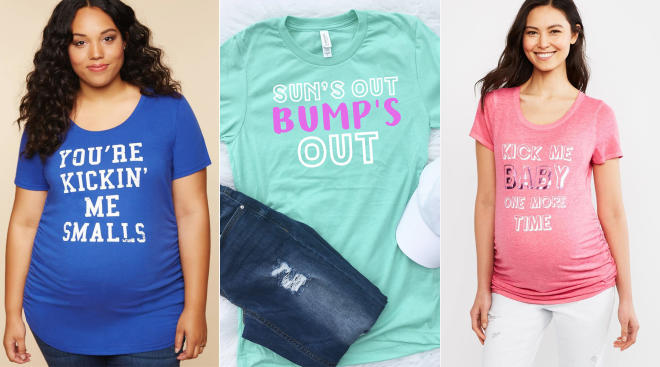 funny shirts about pregnancy