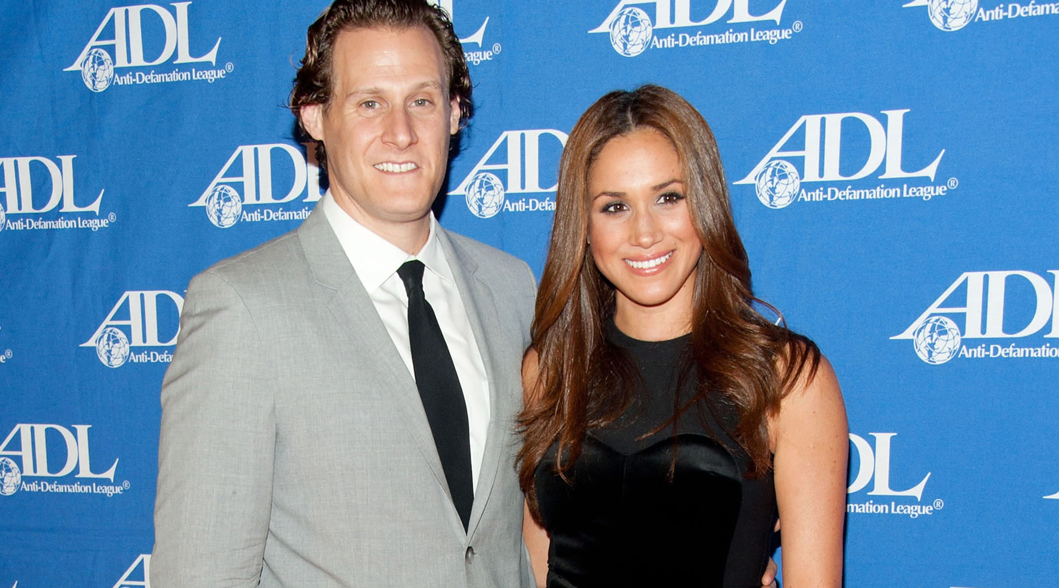 meghan markle ex-husband trevor engelson red carpet event Anti-Defamation League Entertainment Industry Awards Dinner
