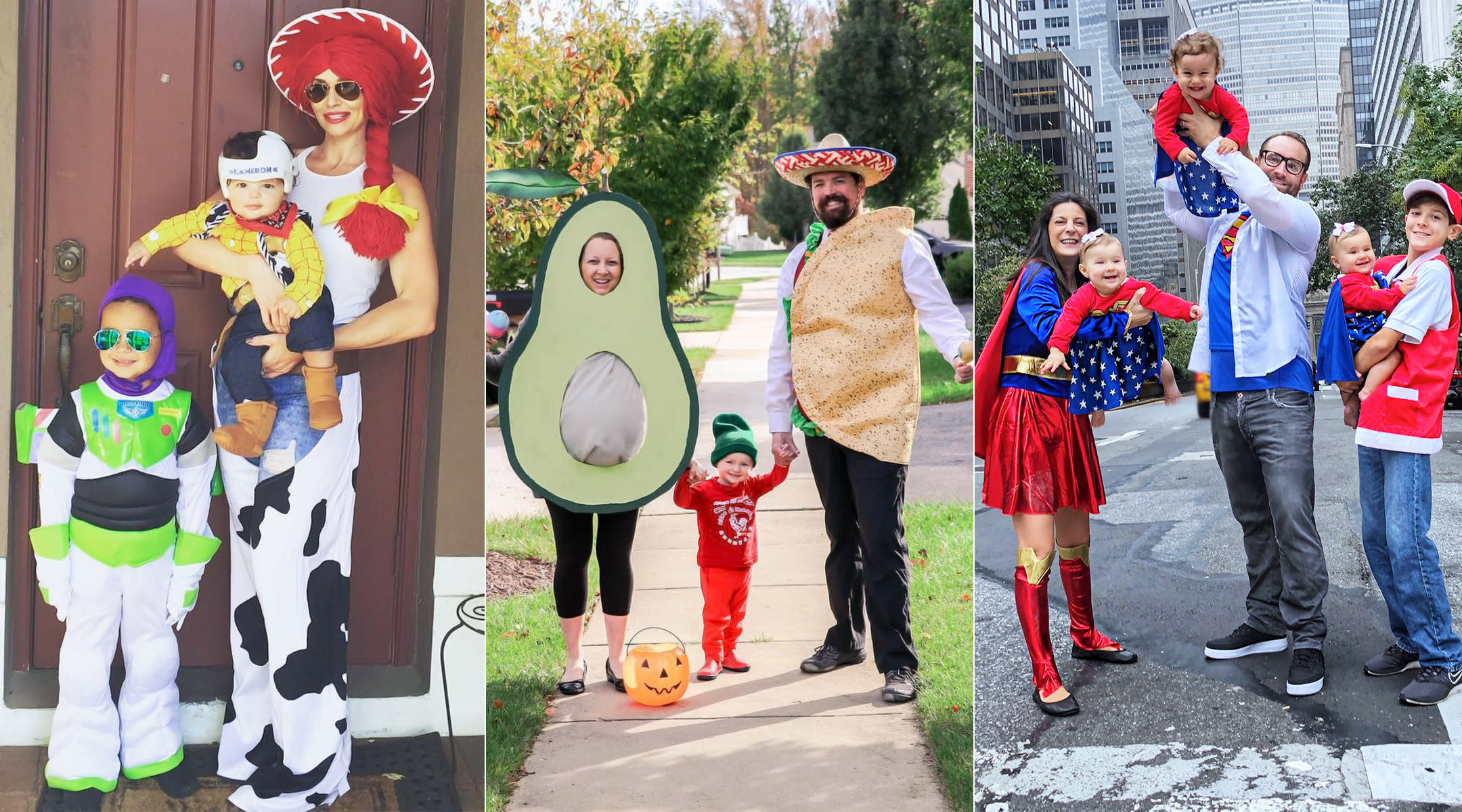 41 Family Halloween Costumes That Are Scary Good