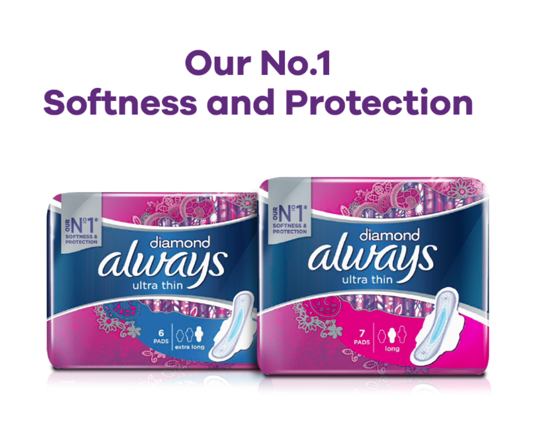 Always Diamond Ultra Thin Pads