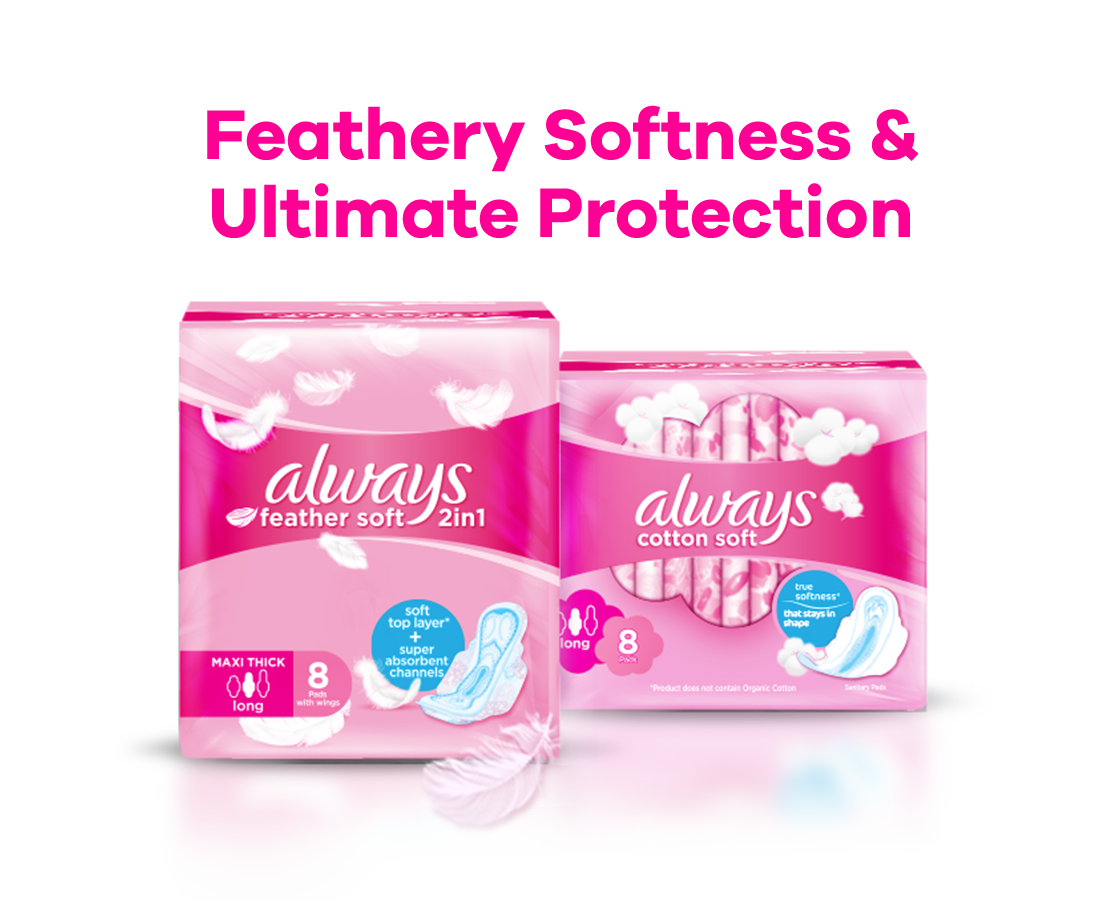 Always Cotton Soft Sanitary Pads