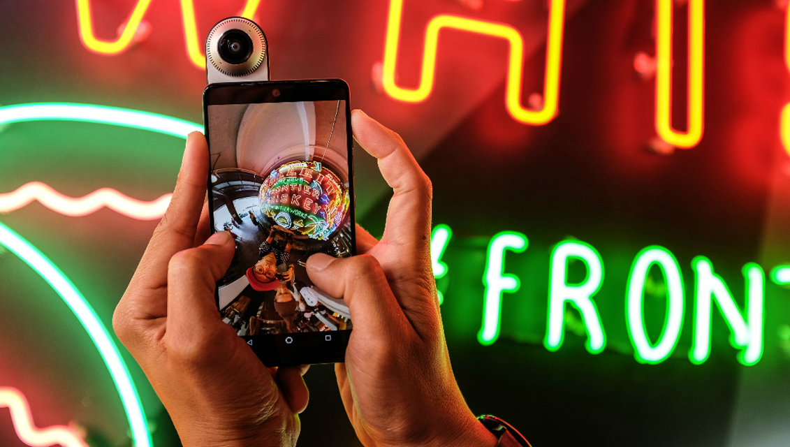 How to share 360-degree content on social media