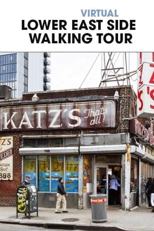 Virtual Lower East Side Walking Tour