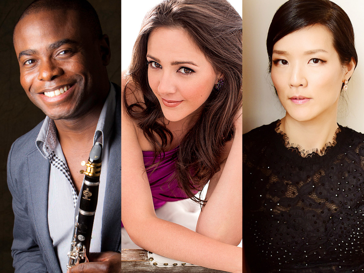 Anthony McGill, Susanna Phillips, and Myra Huang perform Schubert and more
