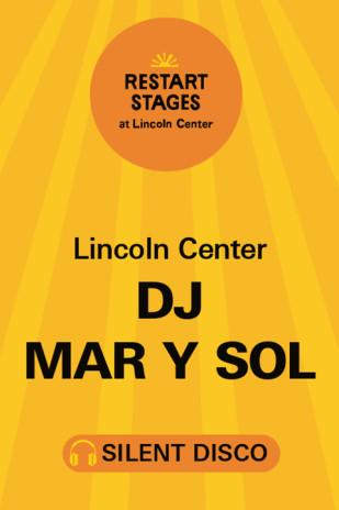 Restart Stages: Silent Disco on The GREEN: DJ Mar Y Sol