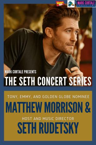 Matthew Morrison & Seth Rudetsky