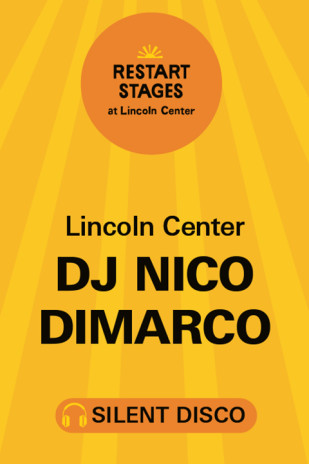 Restart Stages: Silent Disco on The GREEN: DJ Nico DiMarco