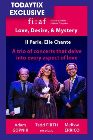 Love, Desire, & Mystery: Adam Gopnik and Melissa Errico