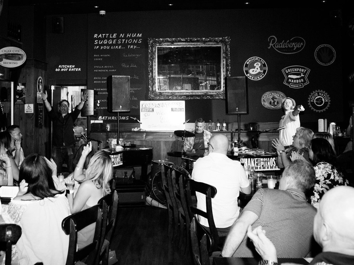 Shake Rattle & Roll - Dueling Pianos