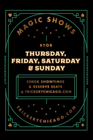Trickery Chicago Magic Show