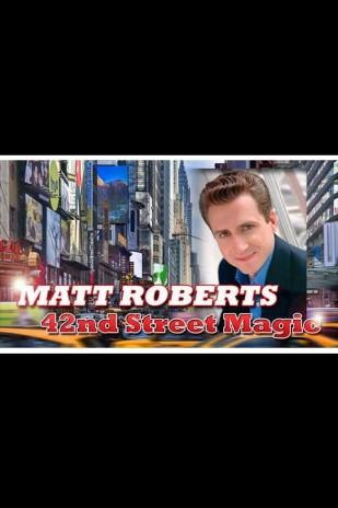 Magician Matt Roberts in Atlantic City