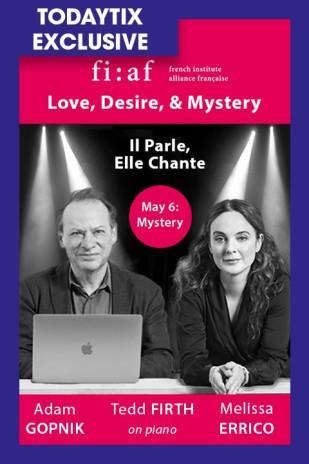 Mystery: Adam Gopnik and Melissa Errico