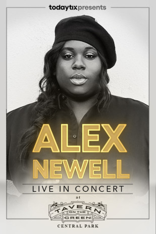 Alex Newell at Tavern on the Green