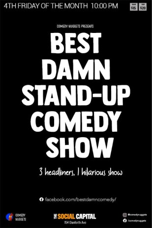 Best Damn Stand-Up Comedy Show in Toronto