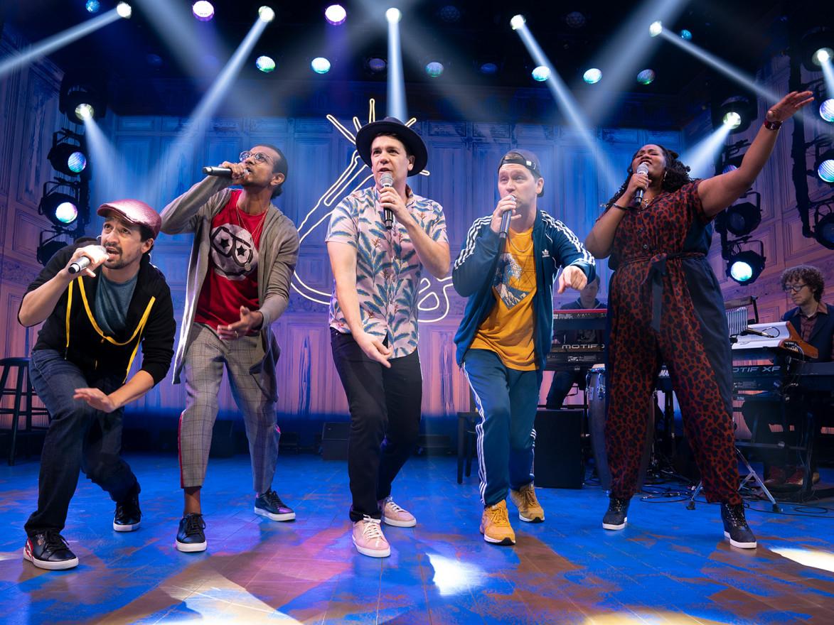 freestyle love supreme on Broadway