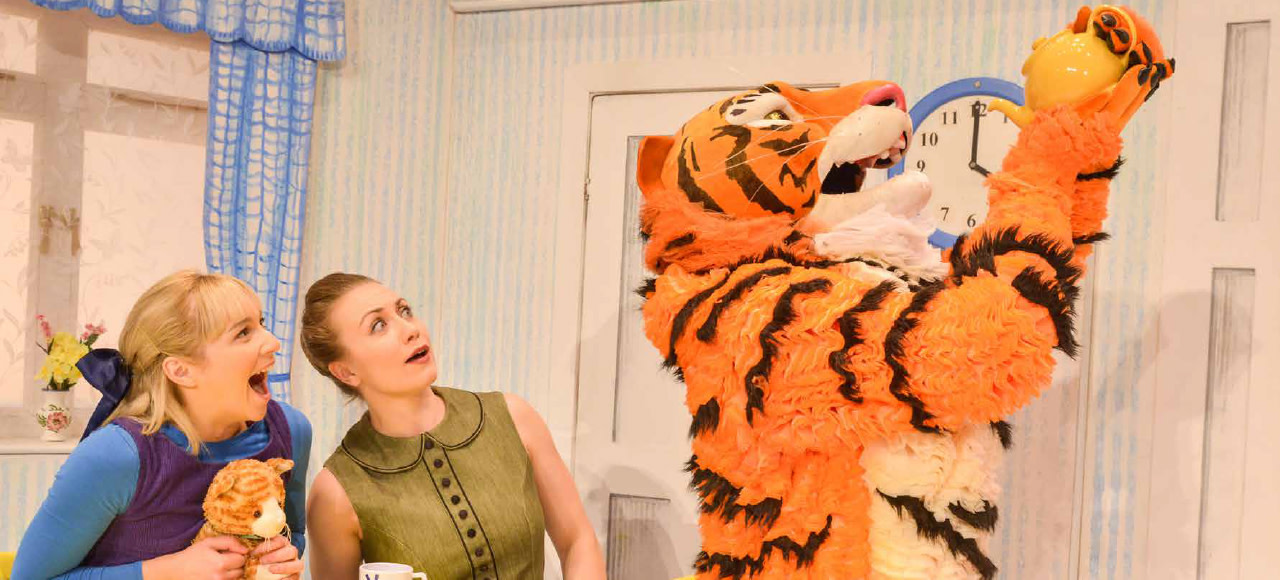 The Tiger Who Came To Tea