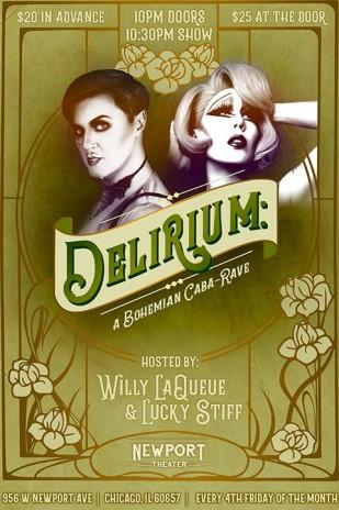 Delirium: A Bohemian Caba-Rave