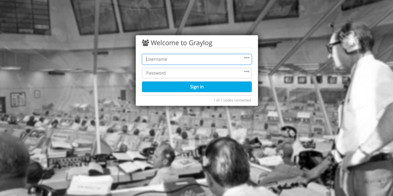 graylog-login