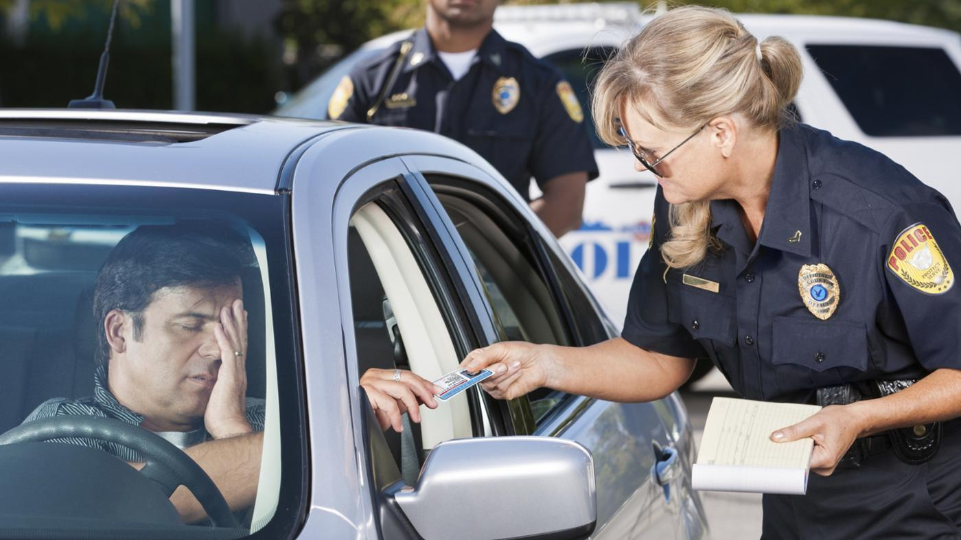 Driving violations on your record