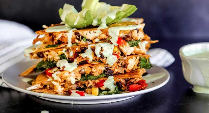 LOADED CHICKEN QUESADILLAS 1 1024x1024