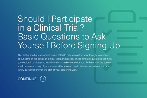 Should I Participate in a Clinical Trial? Basic Questions to Ask Yourself Before Signing Up image