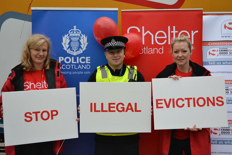 Illegal evictions campaign launch