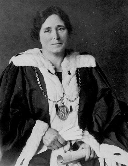 Mary Barbour, who was a leading social reformer and a leading voice of housing and rent reform in Glasgow in the early 20th century