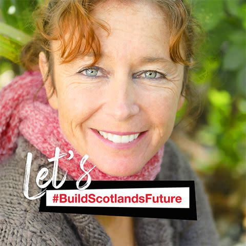 Build Scotland's Future Facebook profile photo frame