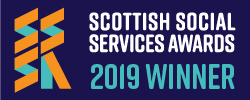Time for Change was a winner in the 'A Different Approach' category of the 2019 Scottish Social Services Awards.