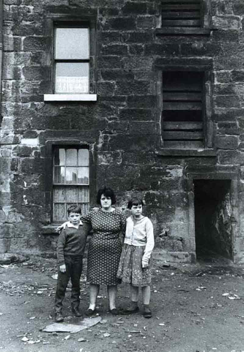 The appalling state of many Glasgow tenements, such as these photographed in July 1968, helped galvanise support for the newly launched Shelter Scotland.