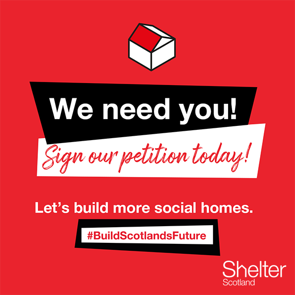 build Scotland's future social media sharing photo