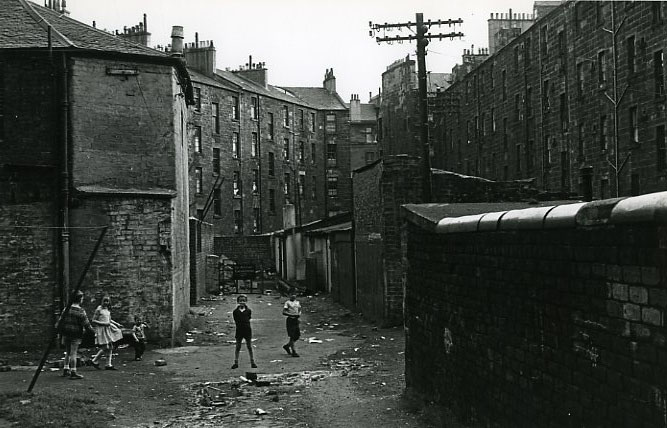 Slum clearance and a housing boom in 1930s Scotland