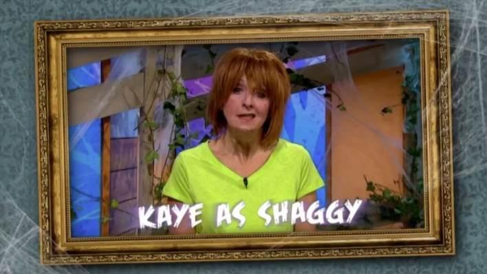 Kaye Adams as Shaggy from Scooby Doo